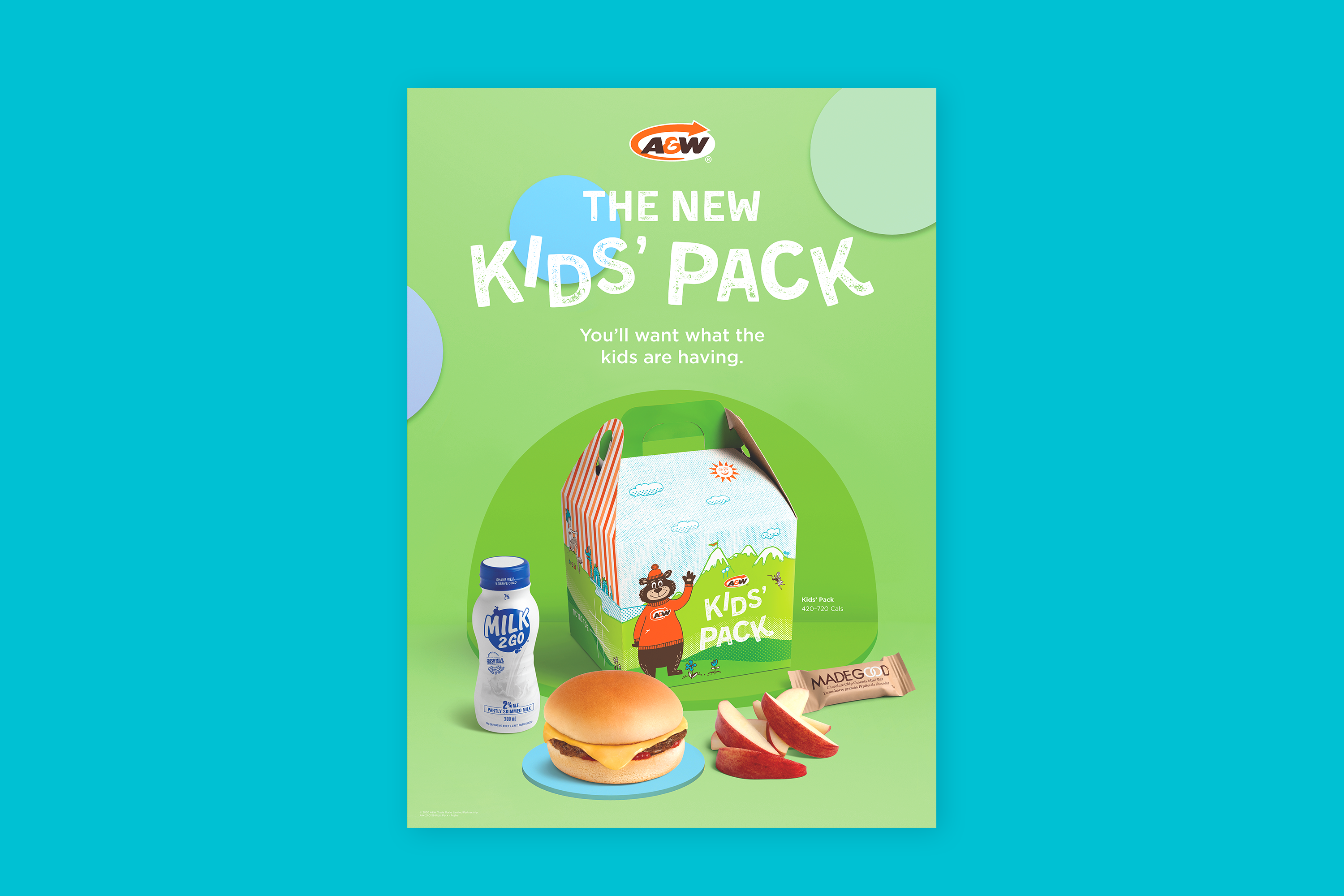 A&W Kids Pack Poster